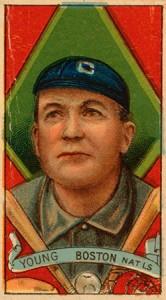 Cy Young baseball card