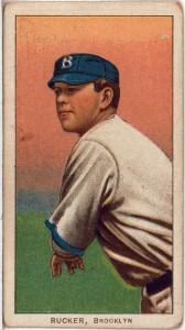 Nap Rucker Brooklyn Dodgers baseball card