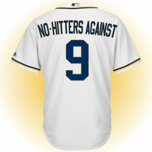 No-hitters against 9