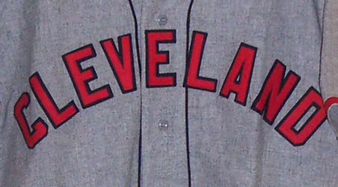 Cleveland Indians road crest