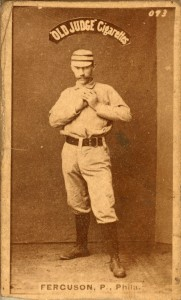 Charlie Ferguson threw the Phillies' first no-hitter as a member of the 1885 Philadelphia Quakers.