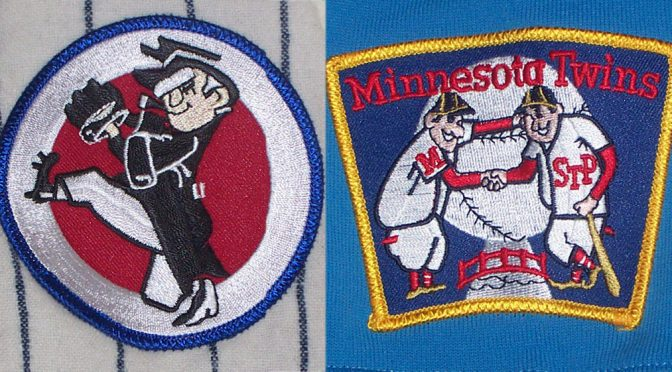 Senators and Twins patches