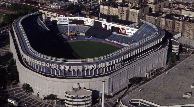 The original Yankee Stadium.