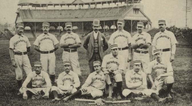 The Indianapolis Hoosiers baseball team