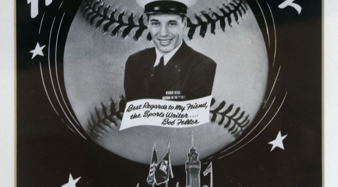 Feller enlists 2 days after Pearl Harbor, 74 years ago today