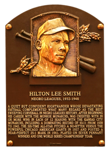Hilton Smith was elected to the Hall of Fame in 2001