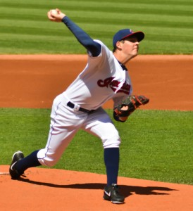 Trevor Bauer by Erick Drost under CC BY 2.0