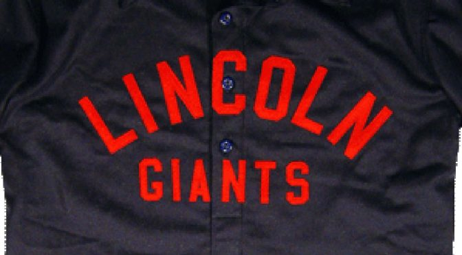 """Cannonball"" Dick Redding throws Lincoln Giants no-no, 104 years ago today"