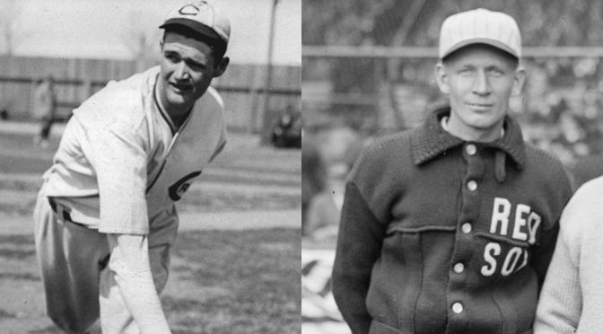 Dave Davenport and Howard Ehmke threw no-hitters on this date