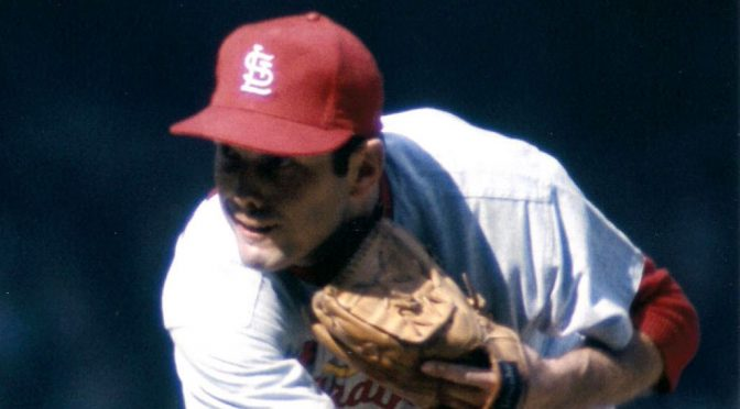 Cardinals' Washburn pays back Giants, 49 years ago today