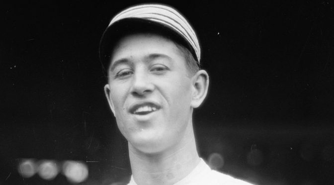 No-no thrower 'Bullet' Joe Bush born 124 years ago today