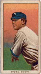Nap Rucker Brooklyn Dodgers baseball card