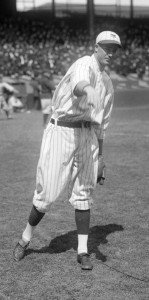 The New York Giants' Jesse Barnes no-hit the Philadelphia Phillies on May 7, 1922.