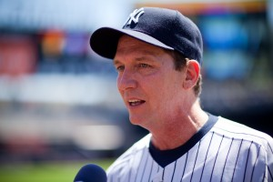 Old Timer's Day -- David Cone by Mark Rosal licensed under CC BY-SA 2.0
