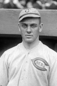 """The Cincinnati Reds' """"Hod"""" Eller no-hit the Cardinals in 1919."""