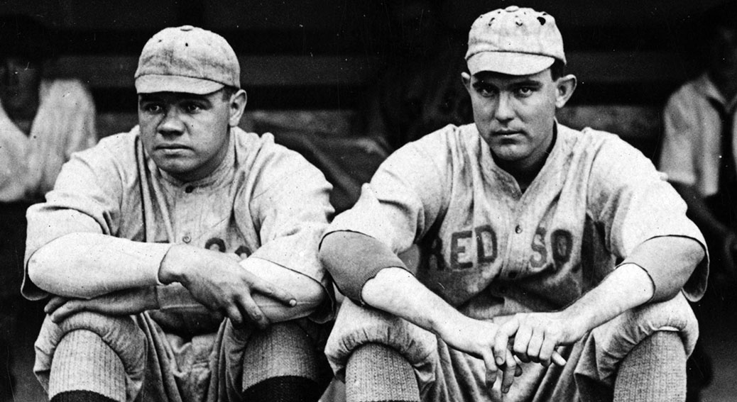 The Babe kicks off baseball's first combined no-no, 103 years ago today    Baseball no-hitters at NoNoHitters.com