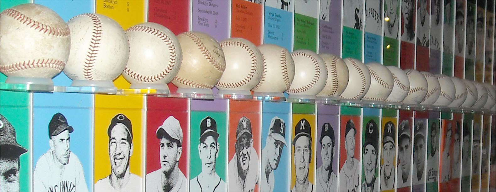 No-no balls from Hall of Fame