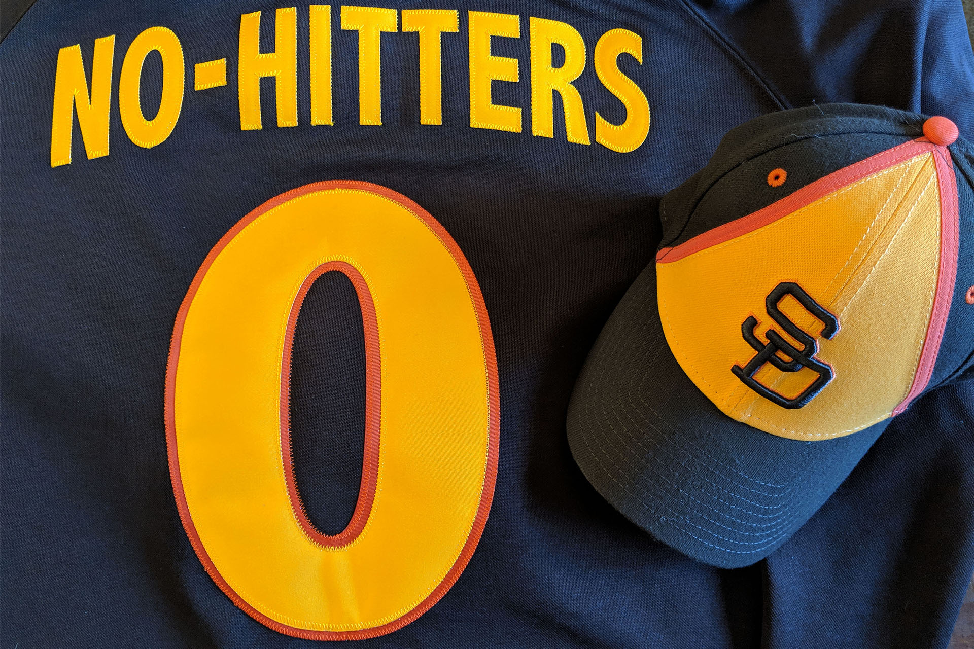 Padres no-hitters jersey