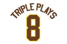 Triple plays 8