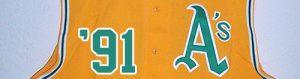 A's front vest '91